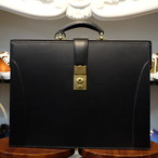 ル・ボナー 細マチダレスバッグ(2マチダレス) ブラック デッドストック・OCS錠前