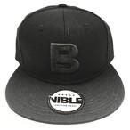 Nible Flat Visor Cap / Black