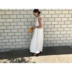 予約 summer pleats dress 7月末発送予定