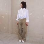tack chino pants:beige