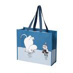 【フィンランド】 ムーミン ショッピングバッグ (ムーミン 氷の上) トートバッグ エコバッグ