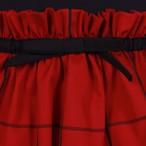 JESSIE AND JAMES 【Peplum Dress=window check=】