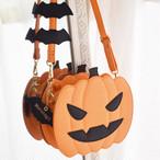 【10月中旬】<ハロウィン>ジャックオーランタンパンプキンロリータクロスボディーバッグ