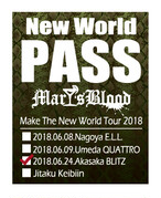 『Make The New World Tour 2018』パスステッカー