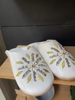 刺繍スパンコールバブーシュ(white)