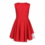 LILY DRESS  ROYAL RED =JESSIE AND JAMES =