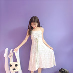 【新作10%off】waist bow feminine dress 2490
