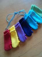 補聴器カバー 袋型幼児用ループ付(脱落防止カバー)左右一組