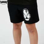 OCTOPUS SKULL SWEAT SHORTS (Black)