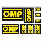 X/889  OMP sticker set of 9 adhesive