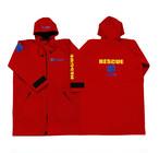 GUARD ガード スターオブライフ ウェットスーツ ウェットパーカ RESCUE×RED wet-red
