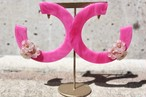 candy hoop pink