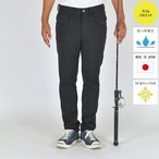 "【全サイズ再入荷!】""The Active Angler""   FISHING STRETCH  PUNCH PANTS BLACK BW-107VM"