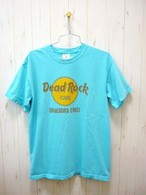 """Dead Rock Cafe""S/S T-Shirt Real Used Wash 6.1oz. (デッドロックカフェ T-シャツ リアルユーズドウォッシュ 6.1オンス)"