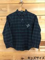 キッズサイズ ZAWALUZU'S READY STEADY GO KENDAMA CLUB ネルシャツ(140・150サイズ)