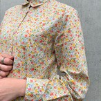 (LOOK) flower print l/s shirt