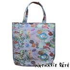 新商品《魚》 トートバッグ ナタリーレテ ゴブラン織り NathalieLete ocean
