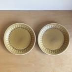 【北欧ヴィンテージ】2枚セットC Jens.H.Quistgaard Relief plate 200 vintage イェンス・クイストゴー レリーフ プレート