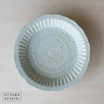 [マルヤマウエア] 花三島 深皿(百花)