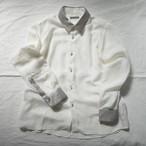 シルバークレリックシャツ  narrow