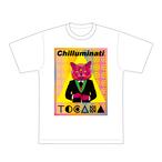【緊急新発売!】チルミナティ×TOCANAコラボT 三つ目の猫Ver.【送料無料】