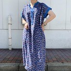 70's jersey masters chiffon dress