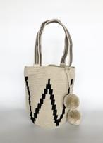 ワユーバッグ (Wayuu bag) Basic line Mini tote W