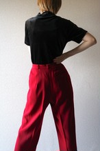 Vintage red slacks