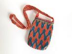 ワユーバッグ (Wayuu bag) 携帯ケース/ポシェット no.4