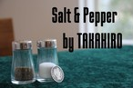 Salt&Pepper by TAKAHIRO(クレカ決済以外対応)