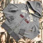 HOLLISTER MENS ZIPパーカー Lサイズ