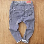 G55 Sarouel Flap Denim Pants