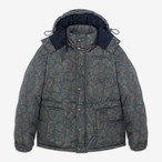 Paisley Cashball Puffer Jacket(Green)