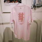 TENKI × A Man Collaboration Tee Pink × Red