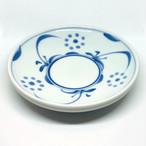 【砥部焼/梅山窯】4.6寸丸皿・切立(太陽)