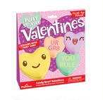 Candy Heart Valentines Set with Puffy Stickers /PH