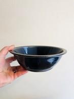 田谷直子 6寸カレー鉢(青ルリ)