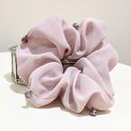 """【再販:特別10%OFF 】""""dull purplepink color"""" Scrunchie"""