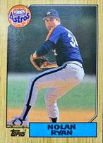 MLBカード 87TOPPS Nolan Ryan #757 ASTROS