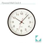KATOMOKU plywood wall clock 4 km-44B