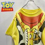 Vintage Disney × PIXAR TOY STORY トイ ストーリー Woody ウッディ Design T-Shirt
