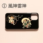 iPhone 11Pro Max 高盛り蒔絵 iPhoneカバー