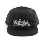 Nemlesss × Crod / Nylon Jet Cap / Tag / Logo / Black (With Sticker)
