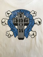 """DOGTOWN """"SKATE TO LIVE"""" S/S Tee <Used>"""