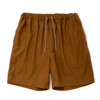 "Just Right ""AOB Shorts"" Brown"