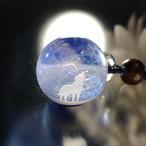 [試作品] きらめくガラスの宇宙ペンダント0519/【cosmic tale】