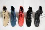 予約注文商品 サイドジップレースアップアンクルウォーカー レースアップ ブーツ ウォーカーブーツ 韓国ファッション