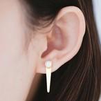Cosmic Series Comet Asymmetric earrings (彗星アシンメトリーピアス)