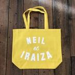 Neil and Iraiza YELLOW LARGE TOTE