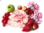 大人だって可愛くしたいフルーツ花かんざしセット